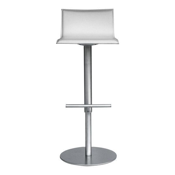 Thin Bar Stool - Leather