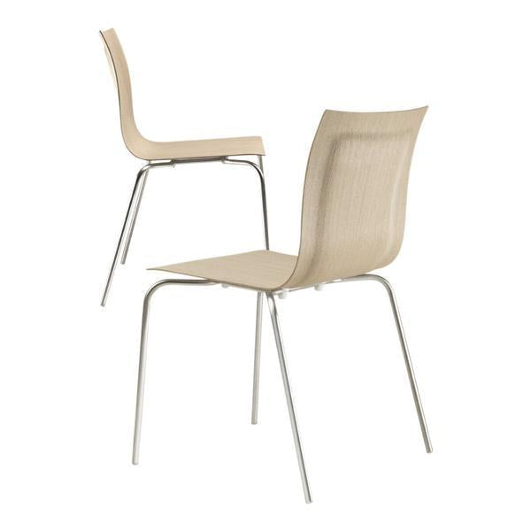 Thin Dining Chair - 4-Legs