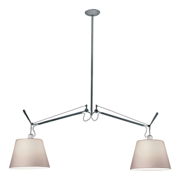 Tolomeo Double Suspension Light w/ Shade