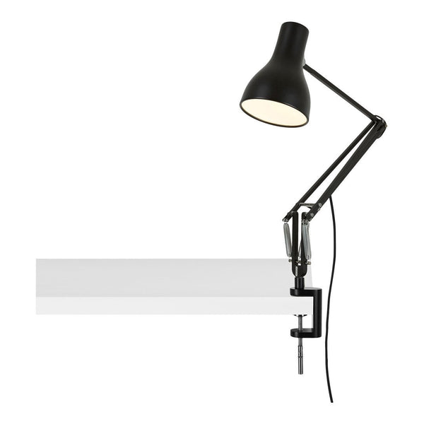 Type 75 Lamp with Desk Clamp