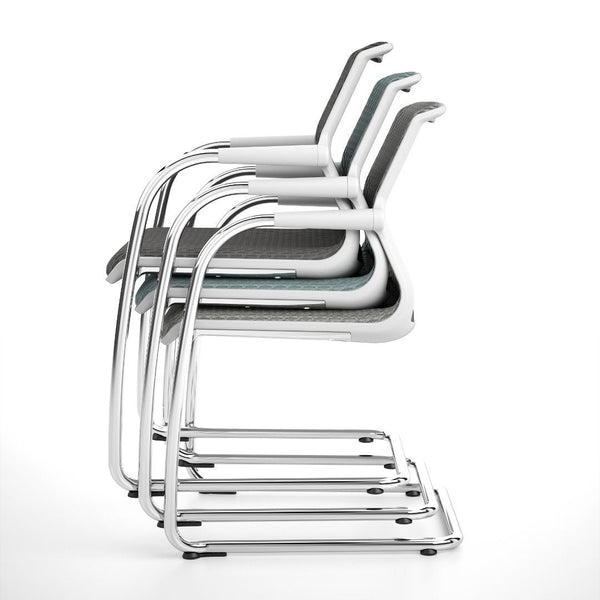 Unix Cantilever Office Chair - Stacking