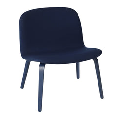 Visu Lounge Chair - Upholstered Shell Steelcut 2 775, Dark Blue - Outlet