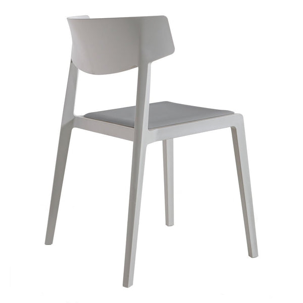 Wing Stackable Chair - Seat Upholstered