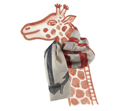 Anchor Vineyard Linen Scarf