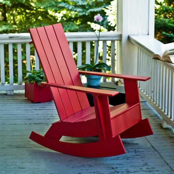 Loll Designs Adirondack Rocking Chair - Flat | Design Public