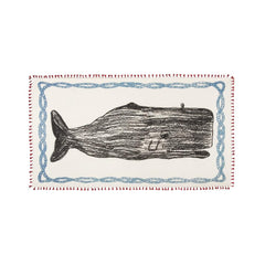 Apparel - Chapati Whale Sketch Scarf - Red