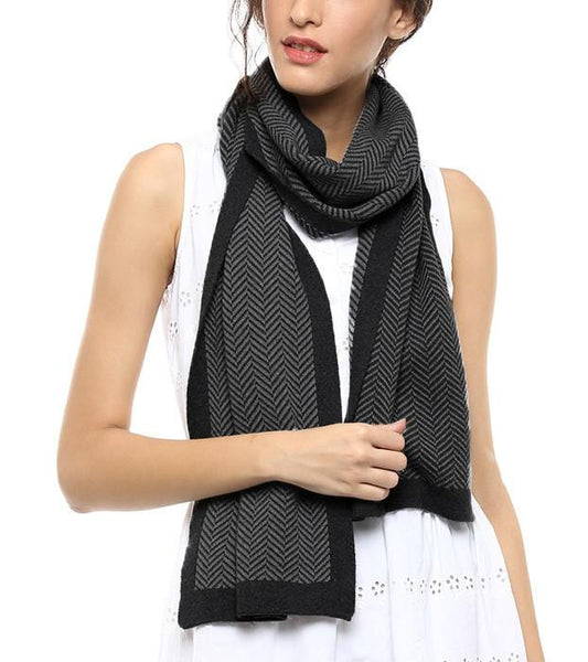 Apparel - Herringbone Open Scarf