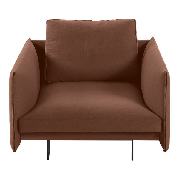 "Deep Lounge Armchair (42.1"" W)"