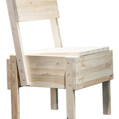 Sedia Chair - Untreated Pine