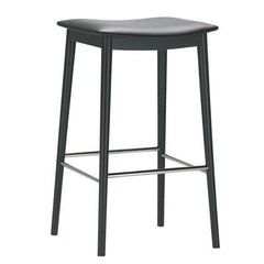 Smile Backless Counter Stool - Upholstered Seat (Fabric)