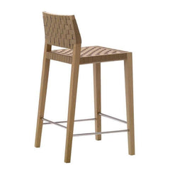 Valeria Counter Stool - Woven Seat & Back