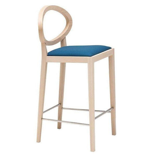 Zarina Counter Stool - Upholstered Seat