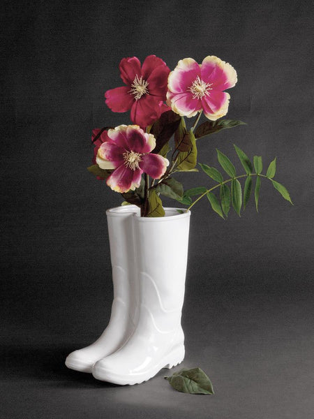 Rainboots Umbrella Stand In Porcelain