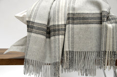 Blankets - JASPER Soft Gray - Throw