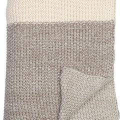 Marl Moss Stripe Throw