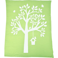 Blankets - Nursery Tree Baby Blanket