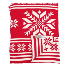 Snowflakes Throw