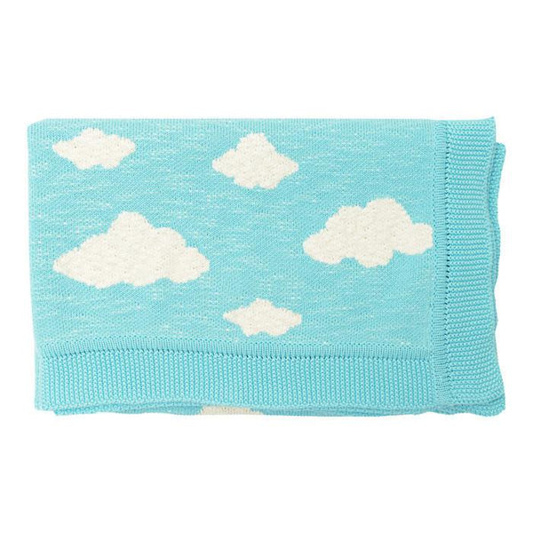 Soft Clouds Baby Blanket