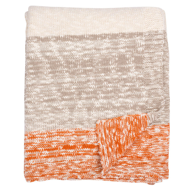 Thick and Thin Stripe Throw
