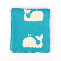 Blankets - Whale Design Baby Blanket