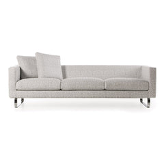 Boutique Sofa - Silver