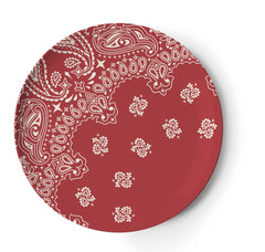 Bowls & Plates - Thomaspaul Melamine Ranchero Dinner Plate Set, Set Of Four