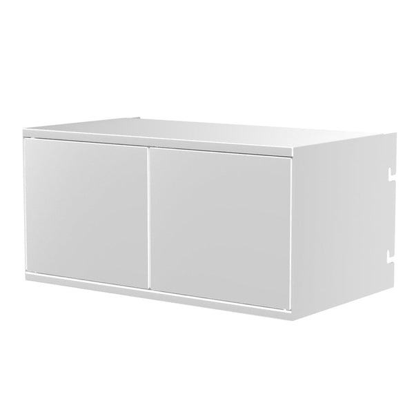 System 1224 Accessory - Open Cabinet w/ Doors
