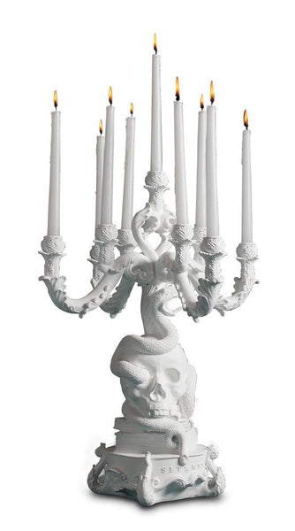 Candles & Candle Holders - Burlesque - The Life Logic Chandelier