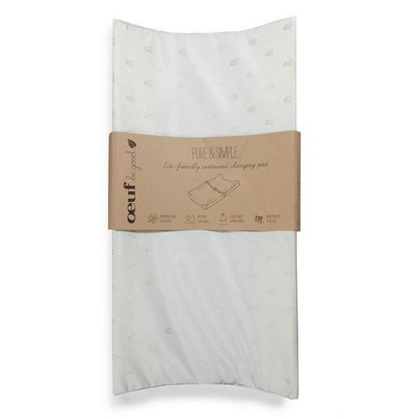 Pure and Simple Eco-Friendly Contoured Changing Pad