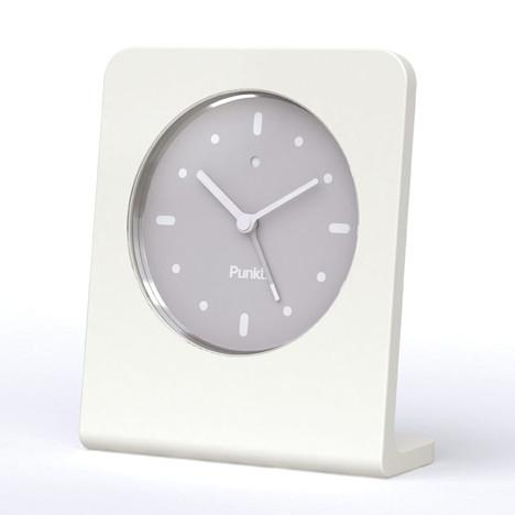 Clocks - AC 01 Alarm Clock By Jasper Morrison - White
