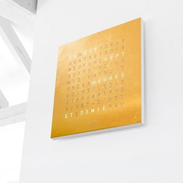 QLOCKTWO CLASSIC Creator's Edition Wall Clock