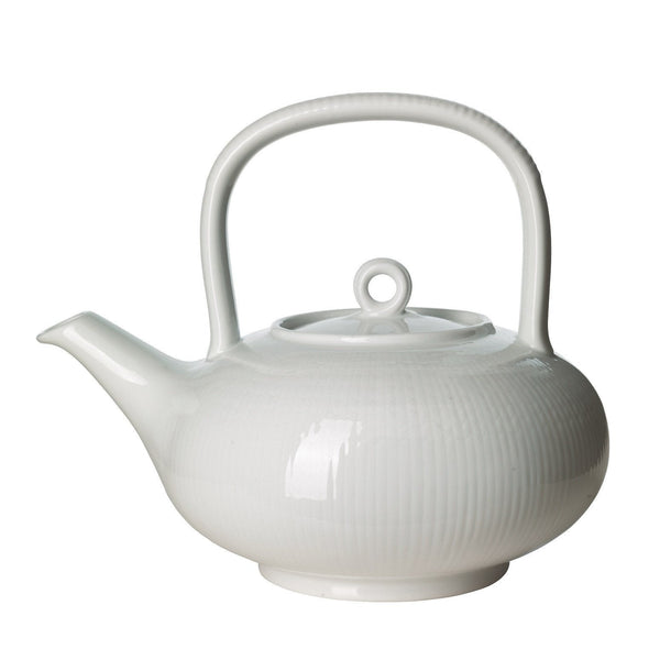 Coffee Servers & Tea Pots - Swedish Grace Tea Pot - Snow