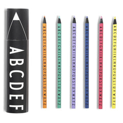 AJ Vintage ABC Colour Crayons