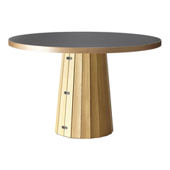 Container Dining Table - Bodhi Base w/ Linoak Top