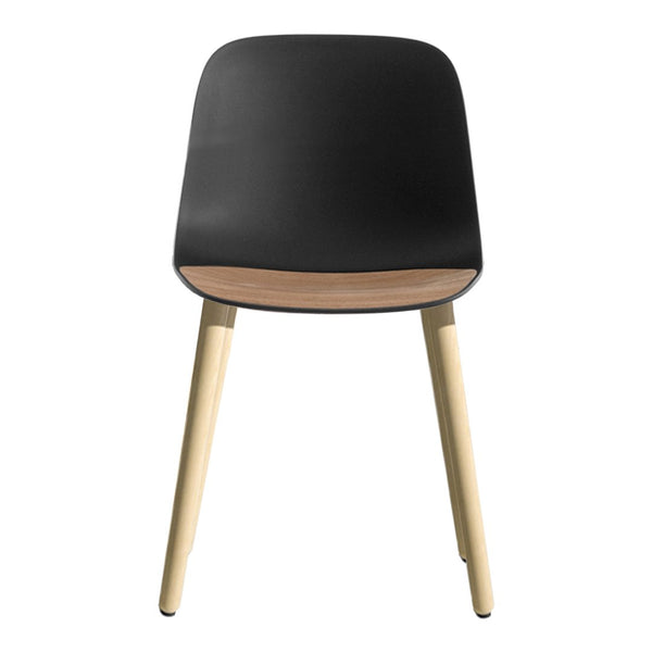 Seela Side Chair - Oak Wooden Base, Unupholstered