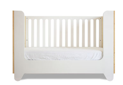 Hiya Crib Conversion Rail - Polar White