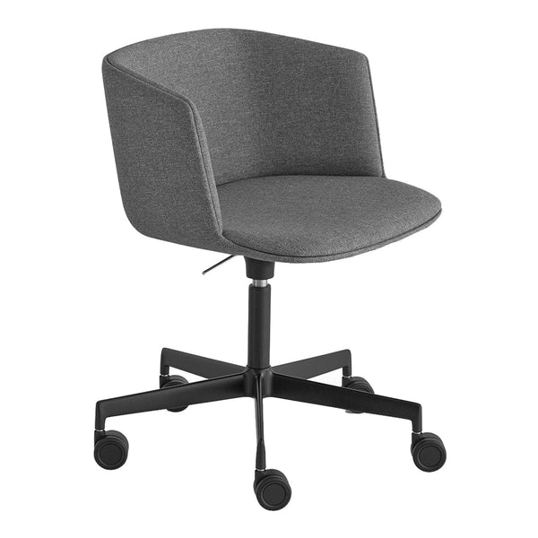 Cut Office Chair - Swivel Base w/ Castors, Fully Upholstered, Adjustable