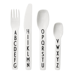 AJ Vintage ABC Kids Cutlery Set