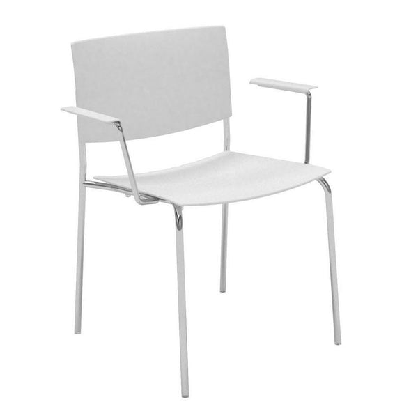 Sit SO1202 Armchair - 4-Leg Base - Stackable