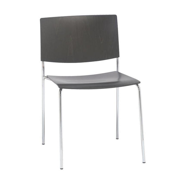 Sit SI120 Chair - Wood Shell - 4-Leg Base