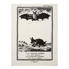 Dish Towels - Clignancourt Tea Towels - Bat