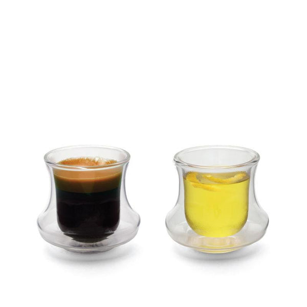 Drinkware - CICLONE Double-Walled Demitasse - Set Of 2