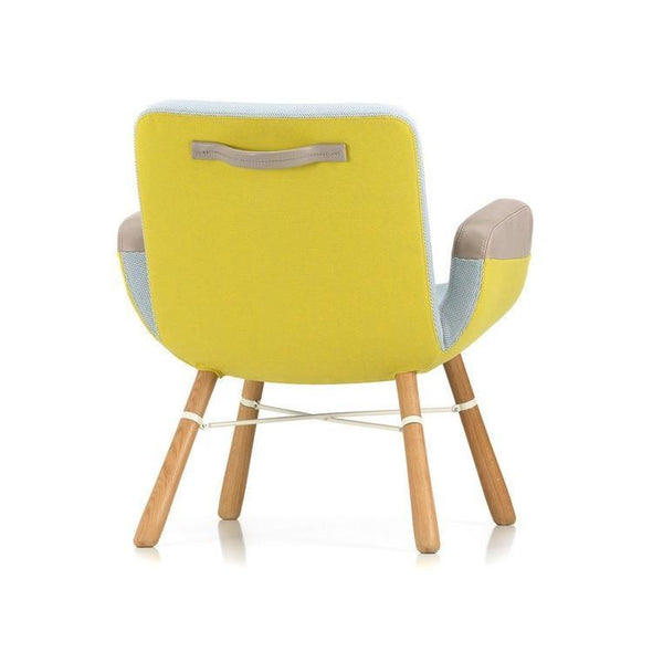 Vitra East River Chair - Light Mix 01, Natural Oak