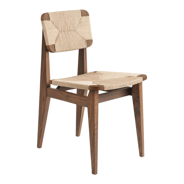 C-Chair Dining Chair - Unupholstered, Paper Cord