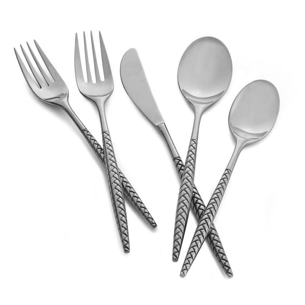 Flatware - Braid 5-Piece Place Setting