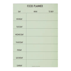 AJ Vintage ABC Weekly Food Planner