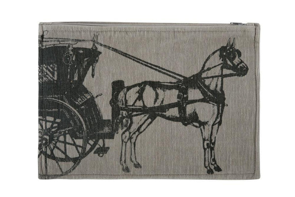 Handbags, Wallets & Cases - Equestrian Pouch - Carriage
