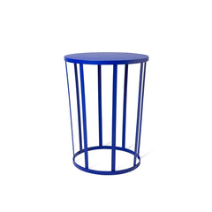 Hollo Stool / Side Table - Blue - Outlet
