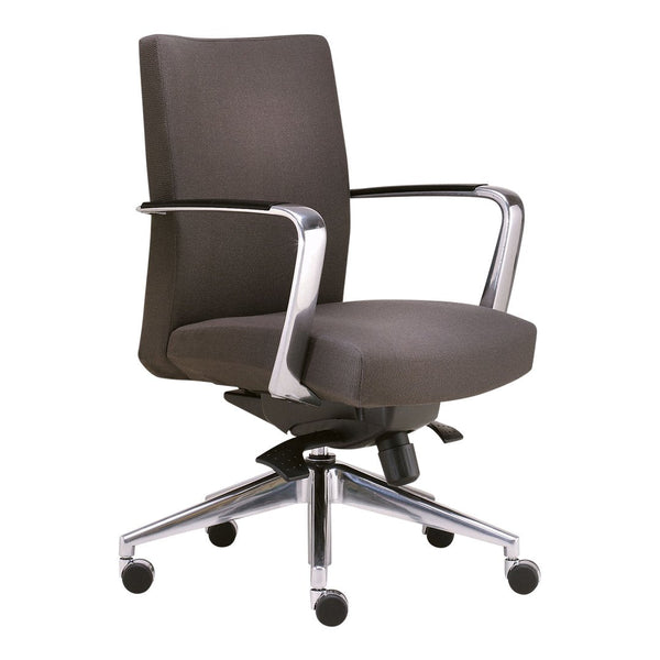 Cadre Mid Back Swivel Chair – Urethane Arm