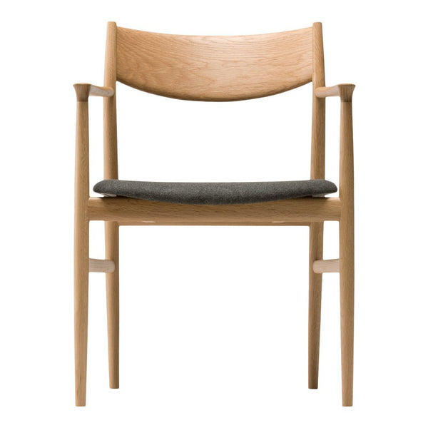 KAMUY Armchair - Seat Upholstered